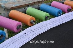 covering trampoline springs with pool noodles, diy, outdoor living, pool designs