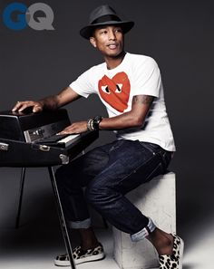 Pharrell Williams - GQ Men of the Year 2013 - Hitmaker- Photographer Steven Pan- Prop Stylist Jordan Wright