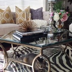 Caught Under Our Brooke Hexagonal Coffee Table: Photo Also Features Our  Pandora Pillows U0026 Charleston Sofa.