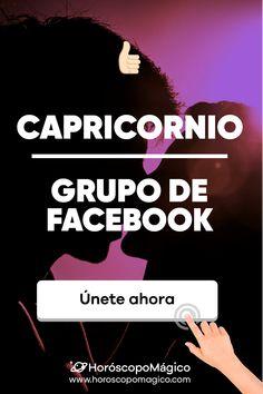 NO TE LO PIERDAS 🔴: Apúntate al grupo de facebook de los CAPRICORNIO de HORÓSCOPO MÁGICO #capricornio #facebook #grupo #predicciondiaria #horoscopo