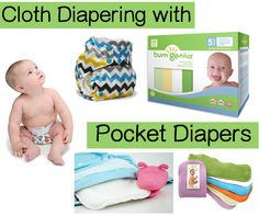 Cloth Diapering with Pocket Diapers - Sweetbottoms Blog