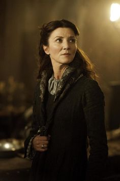 Michelle Fairley as Catelyn Stark in The Rains of Castamere #GamesofThrones