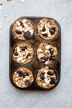 These Healthy Baked Oatmeal Cups Are a Breakfast Savior — Delicious Links