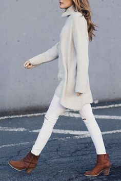 21 Things to Wear with Your Ankle Boots via @PureWow