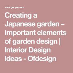japanese garden design principles Google Search Asian Garden