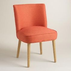 Cost Plus World Market Orange Edena Dining Chairs