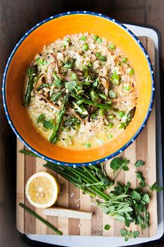 VOGUE.COM's new food bloggers explain how to create a delicious spring risotto