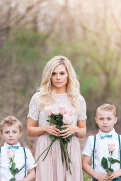 A Whimsical Spring Family Session from Lyn Michael Photography