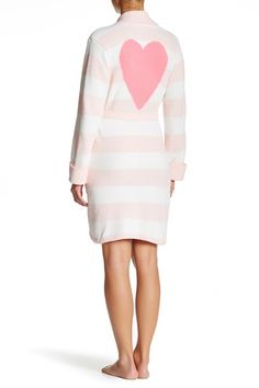 Image of Betsey Johnson Cozy Sweater Wrap Robe