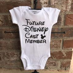 New design for our Future Disney CM onesie!