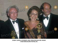 : Carroll O'connor, Jean Stapleton and Rob Reiner Bob Noble/Globe Photos, Inc.