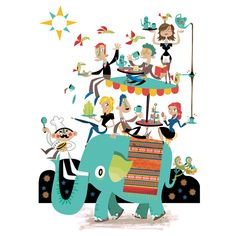 Chris Dickason - professional children's illustrator, view portfolio