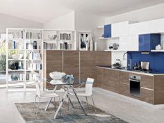 Wandfarbe Blau Für Die Moderne Küche