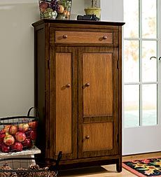 Plow and Hearth multi finish cabinet...