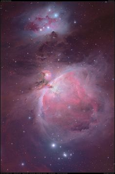 The Orion Nebula (also known as Messier 42, M42, or NGC 1976)