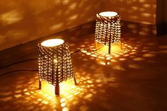 small table/ floor lamps