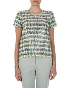 Multicolour Tweed T-Shirt out of Linton tweed!