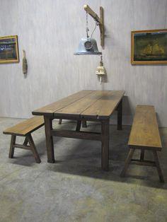 Romuritari - Asiakastyöt, kaapit, lankkupöytä, plank tables ym. Plank, Tables, Dining Table, Furniture, Home Decor, Mesas, Bulletin Boards, Dinning Table, Table