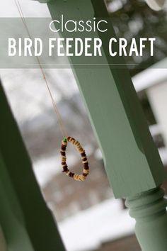 Bird Feeder Craft Great for Fine Motor Skills