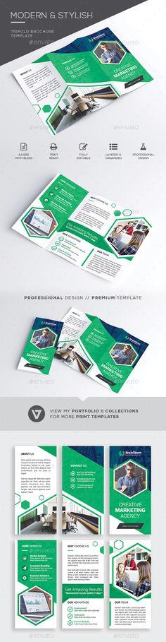 #Trifold Brochure - #Corporate #Brochures