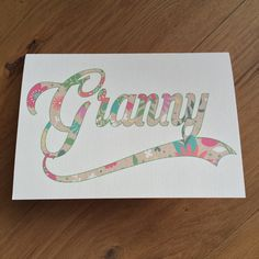 Classy Personalised Birthday card for by weheartcards on Etsy