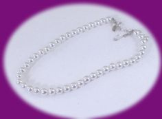 Vintage Park Lane Pearl Necklace Vintage Single Strand Pearl Necklace vintage Jewelry by IRENESVINTAGEBLING on Etsy