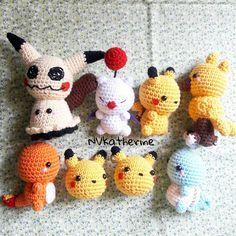 Knitting Patterns, Crochet Patterns, Crochet Pokemon, Crochet Christmas Trees, Lavender Bags, Geek Crafts, Amigurumi Doll, Crochet Animals, Plushies