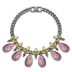 Mawi Glitter Teardrop Necklace