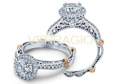 PARISIAN-119R engagement ring from The Parisian Collection of diamond engagement rings by Verragio - um.. WOW!!!