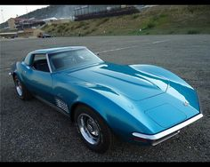 The ONLY beautiful muscle car. 1972 corvette