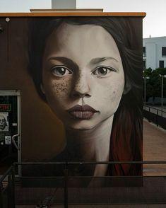 """1,355 Me gusta, 18 comentarios - El Graffiti (@elgraffiti) en Instagram: """"Man o Matic! - Ayamonte, Huelva, Spain. #manomatic #ayamonte #huelva #spain #graffiti #streetart…"""""""