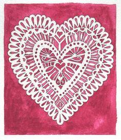 Lace Hearts | Valentine's Day Treats
