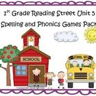What a fun and engaging way to practice the spelling and phonics patterns from Reading Street Basal Series Unit 5! This pack includes 8 games that ...