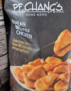 Korean Bbq, Frozen Meals, Spicy, Snack Recipes, Chips, Menu, Chicken, Food, Freezer Meals
