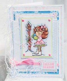 High Hopes Stamps: Freezin' Season by Dina using new release Lil Snowbird (TT009) & Freezin' Season (HH001)