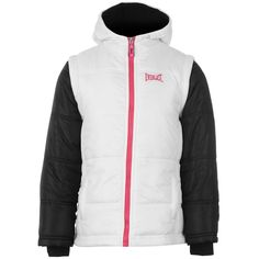 Everlast | Everlast Contrasting Sleeve Junior Girl's Jacket | Junior Girl's Coats and Jackets