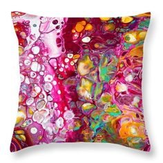Rose's Envy Pillow by Hearts and Keys Art Gold Pillows, Throw Pillows, Keys Art, Pillow Sale, Hyde, Envy, Hearts, Fabric, Prints