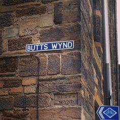 This street name in St Andrews gets plenty of attention! Photo by elizabethlippman