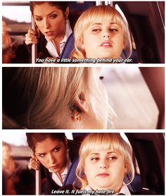 "Love Fat Amy! ""It fuels my hate fire"""