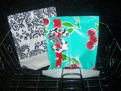 Reusable Sandwich Bags - Making these for the kids school lunches this year!