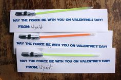 Star Wars Valentines by Wendy Copley, via Flickr