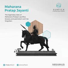 The legendary tales of Maharana Pratap's sacrifice, bravery and patriotism can't be forgotten. #Surfica #Surficalam #Laminates #laminate #laminatescollection #LaminatesDesign #BestLaminates #LuxuryLaminates #LaminateCollection #LaminateSheet #MaharanaPratap #courage #Mewar #maharanapratapjayanti2021 National Days, Group Of Companies, Bookends, Canning, Design, Home Canning, Conservation