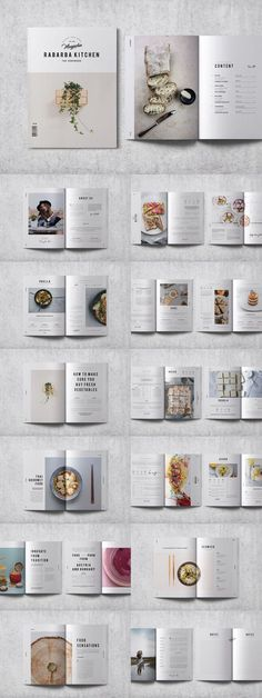 Modern Cookbook Recipe Business Beauty Brochure Layout Templates For Graphic Design Inspiration The Effective Pictures We Offer You About Food Book app ui Template Brochure, Design Brochure, Brochure Layout, Layout Template, Report Template, Book Design Templates, Spa Brochure, Recipe Book Design, Cookbook Design