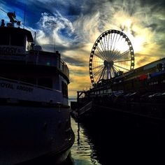 Visit the Seattle Great Wheel at Pier For adults, a ride costs USD 13 and for children 12 and under, it's USD Beautiful World, Beautiful Places, Seattle Waterfront, Seattle News, Emerald City, Travel Bugs, Washington State, Nice View, Great Places