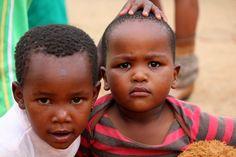 Beautiful children in Soweto, South Africa