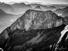 Scenic view from Pilatus Mountain