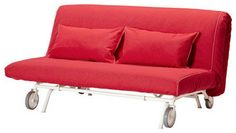 Cotton PS Lovas ( Two Seat ) Cover Replacement is Custom Made for Ikea PS Sofa Bed, Sleeper, Or Futon Slipcover (Wine Red) Ikea Ps, Sofa Bed Mattress, Futons, Sofa Design, Ikea Klippan, Sofa Cama Clic Clac, Antik Sofa, Couches, Yurts