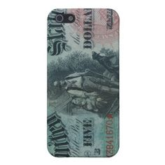 1869 $5 Dollar Bill iPhone 5 Covers
