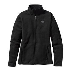 Patagonia Women's Black Better Sweater Jacket