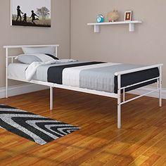 Rack Furniture Seattle Twin Metal Bed Frame - Great for K... https://www.amazon.com/dp/B01LW82K56/ref=cm_sw_r_pi_dp_x_hl1eybM3MYXP9